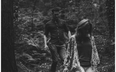 Cooley Mountains couple shoot // Aisling + Donal