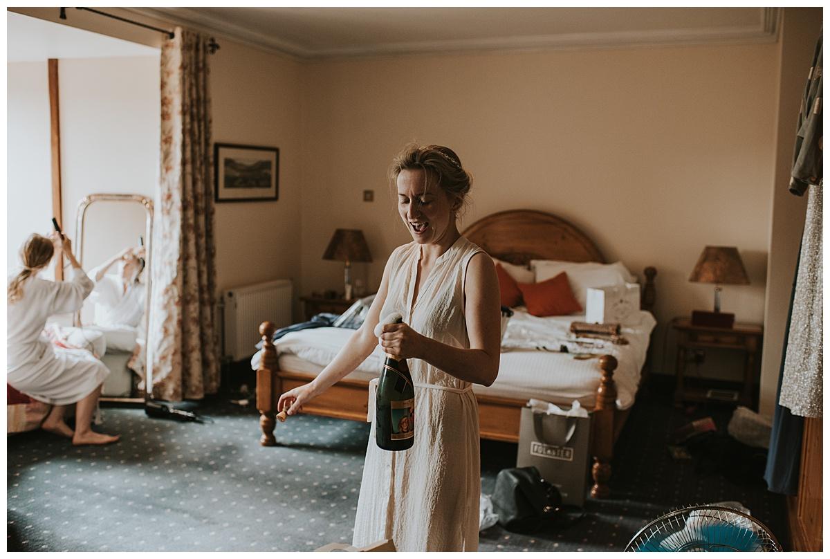 Relaxed Blackwater Castle Wedding Cork // Pearl + Ciaran