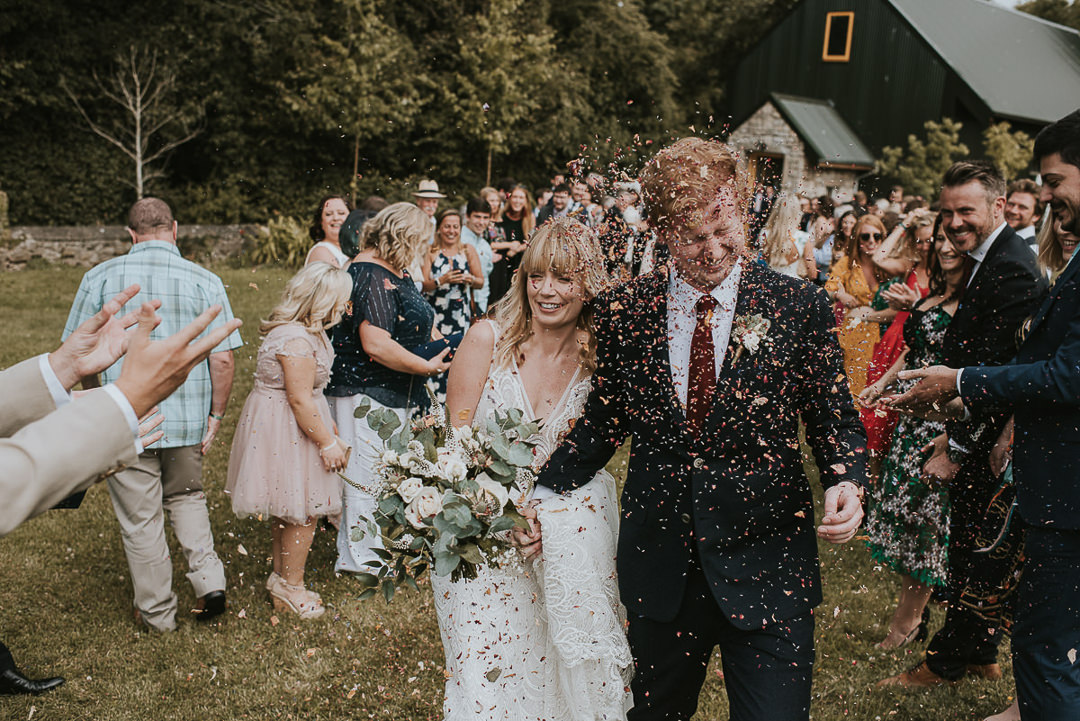 the village barn wedding