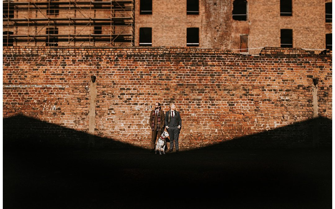 Baltic Triangle Liverpool couple shoot